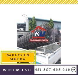 Harga Wiremesh Perlembar Dan Roll Diameter M6 Murah Surabaya